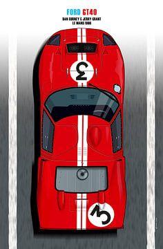 Dan Gurney, Jerry Grant GT40