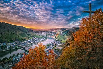 Historische Stadt von Cochem von Sander Poppe