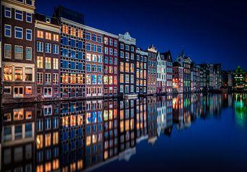 Amsterdam Damrak van Mario Calma