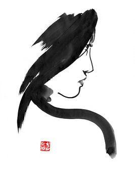 Geisha-Profil von philippe imbert