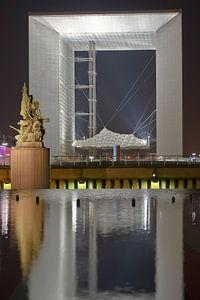 La Defense de Paris et Grande Arche sur