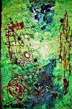 Abstrait  vert von Darielle PUCCINI