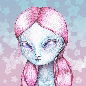 Außerirdisches Mädchen von Bianca Wisseloo