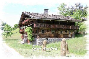 Bauernhäuser in Tirol, Österreich