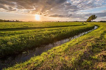 Blendenden Sonnenuntergang von John Verbruggen