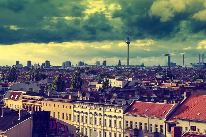 Berlin - Skyline van Alexander Voss