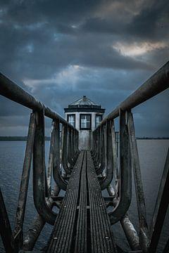 Leuchtturm aus Ost-Ahorn von Tom Knotter