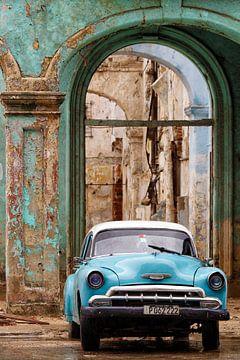 KUBA - Oldtimer und baufälliges Gebäude - Havana von Marianne Ottemann - OTTI