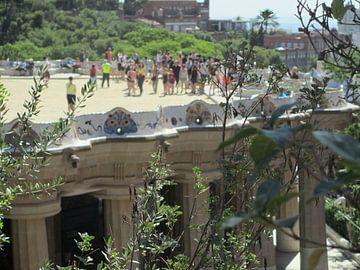 tuinen van Gaudi, Barcelona van Iris Blonk