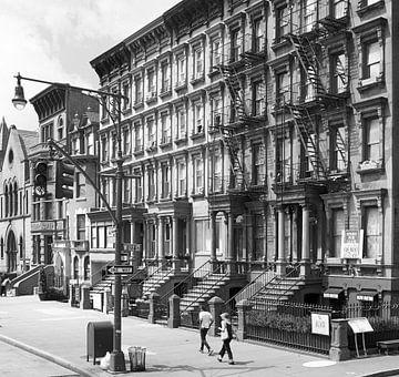 Malcom X boulevard Harlem USA sur eric borghs