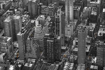 New York Yellow Cabs aus der Luft! von Maurits van Hout