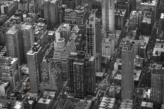 New York Yellow Cabs vanuit de lucht!