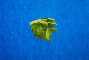 Blauw groen van Brigitte van Ark