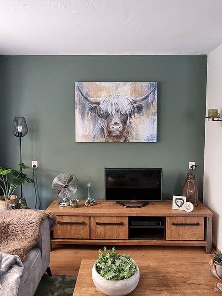 Kundenfoto: Hochlandkuh I von Atelier Paint-Ing