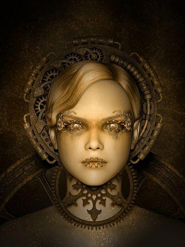 Steampunk Metropolis van Britta Glodde