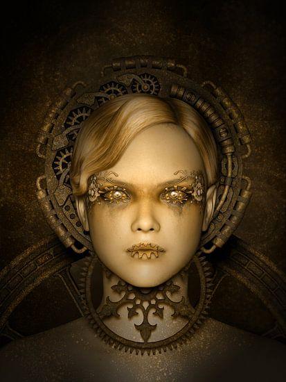 Steampunk Metropolis von Britta Glodde