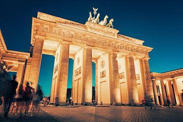 Berlin - Brandenburg Gate van