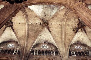 Santa Maria del Mar in Barcelona II van Jessica van den Heuvel