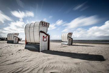 Duitse strandkorven van Linda Raaphorst