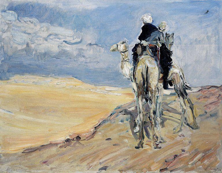 Sandsturm in der libyschen Wüste - Max Slevogt, 1914 von Atelier Liesjes