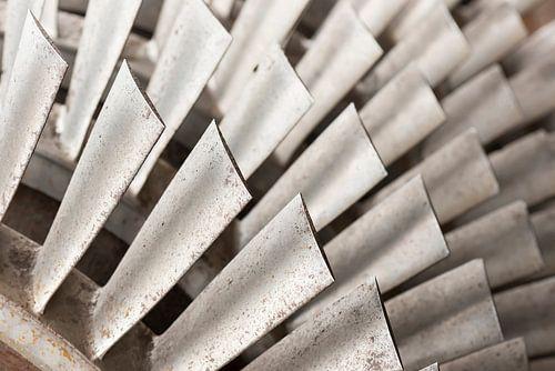 Industriele metalen turbine bladen