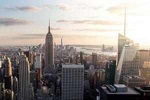 Lower Manhattan (in kleur)  van