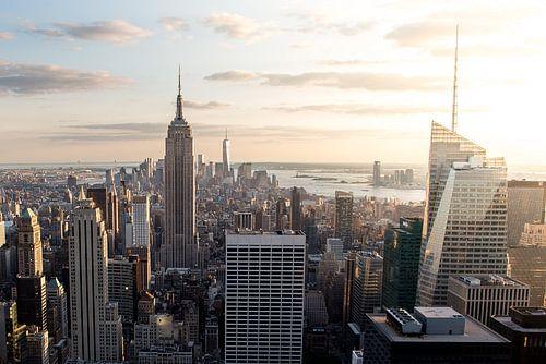 Lower Manhattan (in kleur)