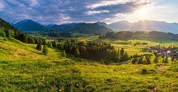 Coucher de soleil dans les montagnes sur MindScape Photography