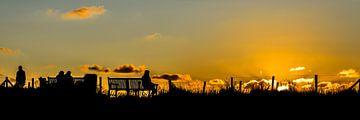 Am Strand Noordwijk aan Zee von HvNunenfoto