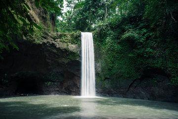 Wasserfall im Dschungel in Bali von road to aloha