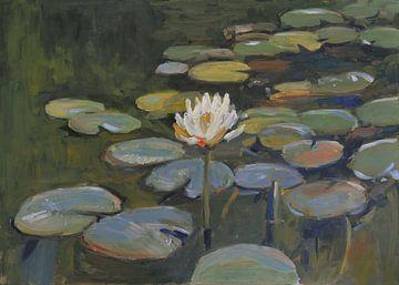Waterlelies #052021 van Nop Briex