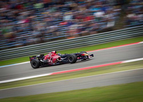 Red bull F1 van