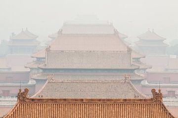 De verboden stad in Peking, China