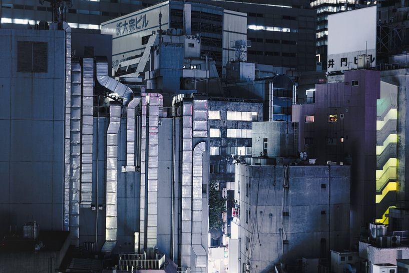Tokyo Rooftops van Sander Peters Fotografie