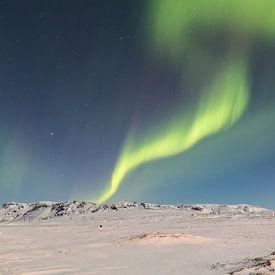 Noorderlicht - IJsland (6) van Tux Photography