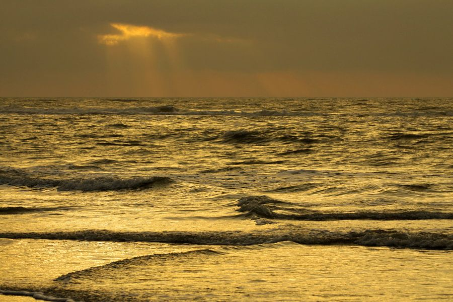 Oranje zee