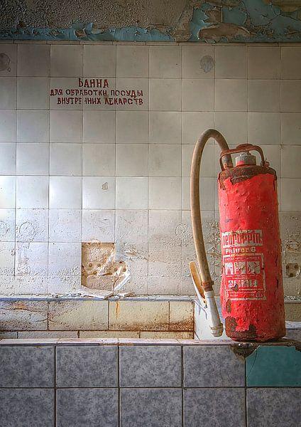 De badkamer van Arthur van Orden