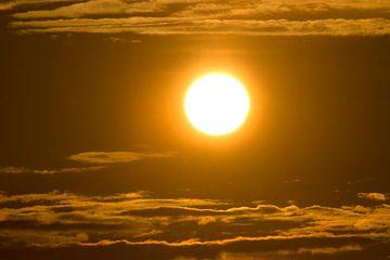 Zonsondergang von Ronald Jansen