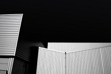Gebouw van staal van Jan Brons