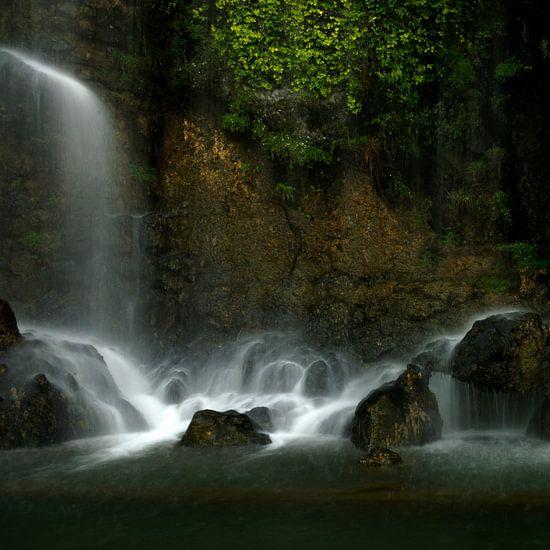 Beroemde  waterval in Nice Frankrijk van Dirk Verwoerd