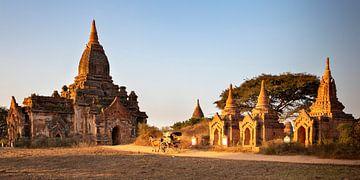 Tempel in Bagan von Antwan Janssen