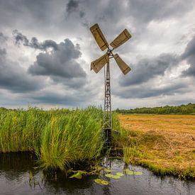 Traditionele windmolen, Weerribben van Jenco van Zalk