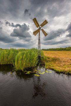 Traditionele windmolen, Weerribben van