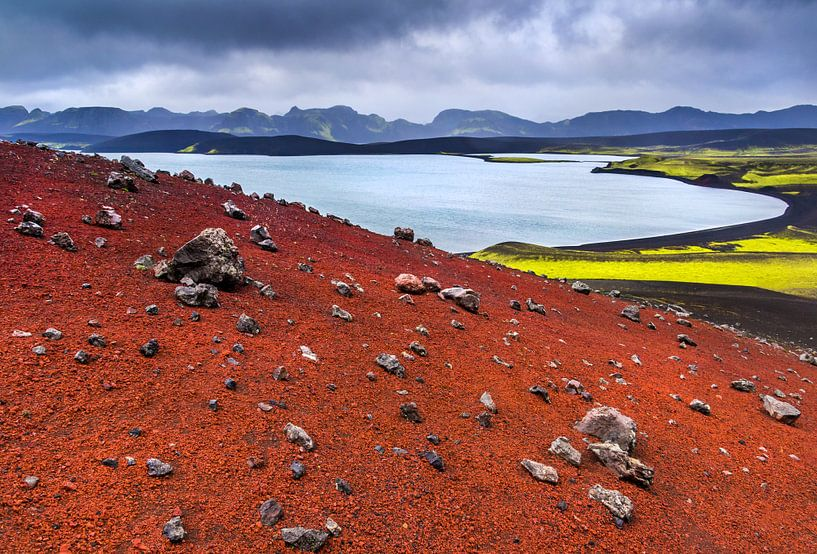 Colours of Iceland van Lukas Gawenda