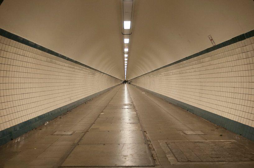 Antwerpen, Schelde-Tunnel von Photobywim Willem Woudenberg
