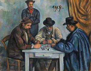 Paul Cézanne. De kaartspelers van