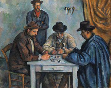 Paul Cézanne. Die Kartenspieler von 1000 Schilderijen