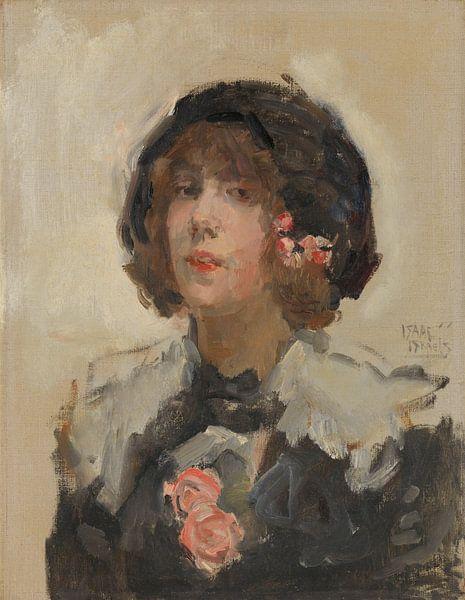 Porträt einer Frau, Isaac Israëls von Meesterlijcke Meesters