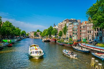 de Oude Schans in Amsterdam van Ivo de Rooij