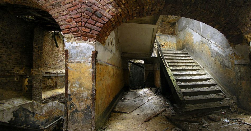 Chartreuse, verlaten fort in België van Raymond Tillieu